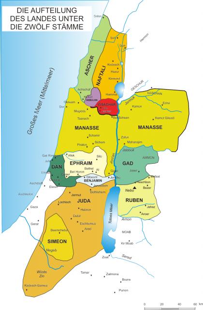 Aufteilung des landes